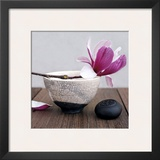 Magnolia and Bowl Prints by Amelie Vuillon