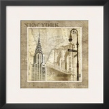 New York Serenade Prints by Keith Mallett