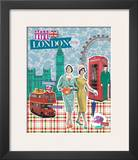London Posters by Emillie Capman