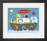 Noah's Ark Print by Isabelle Chauvet