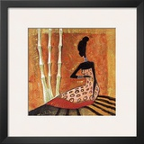 Tribal Fashion II Print by  Yinka