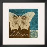 Believe in Butterflies Posters by Elizabeth Medley
