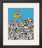 Robots 1 Prints by Ghica Popa