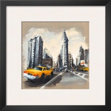 New York, Flatiron Building Prints by Sandrine Blondel