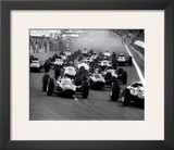 French Grand Prix, c.1965 Print by Rainer W. Schlegelmilch
