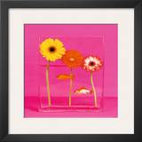 Flowers and Gold Fishes I Prints by Camille Soulayrol