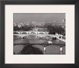 La Seine, Paris Prints by Jean Claude Gautrand