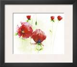 Red Poppies I Poster by Andrea Fontana