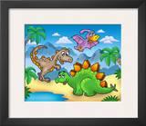 Dino I Print by Klara Viskova