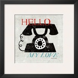Vintage Desktop: Phone Prints by Michael Mullan