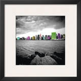 New York Beach Prints by Anne Valverde