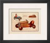 Automobile Eureka Prints by Laurence David