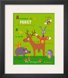 Forest Animals Posters by Isabelle Jacque
