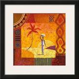 Karibu Print by Eduardo Jindani