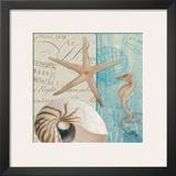 Seaside II Print by Elizabeth Medley