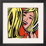 Girl in Mirror, c.1963 Prints by Roy Lichtenstein