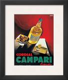 Cordial Campari Posters by Marcello Nizzoli