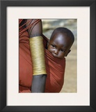 Samburu Baby, Kenya Prints by John Warburton-lee