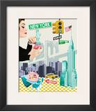New York Prints by Emillie Capman