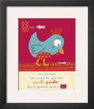 Picoti Picota Print by Isabelle Jacque