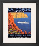 Corse En Yacht Prints by  Hoock