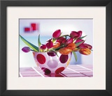 Tulips and Dots Prints