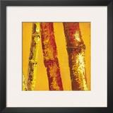 Bamboo Columbia II Art by Tita Quintero