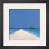 Island in the Sun II Art by Werner Eick