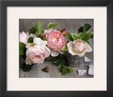 Trois Roses Prints by Catherine Beyler