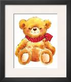 Teddy Prints by  Makiko