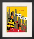 New York Prints by Miroslav Sasek