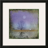 Moonlight in Vermont Print by Dawne Polis