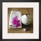 Orchidee et Vase Posters by Amelie Vuillon