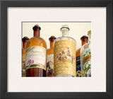 French Perfume Bottles II Poster by Madelaine Gray