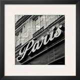 Newsprint Paris Posters by Marc Olivier