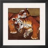 Sleeping Tigers Prints by LISA BENOUDIZ