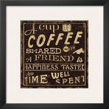 Coffee Quote I Poster
