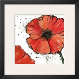 Not a California Poppy IV Print by Chris Paschke