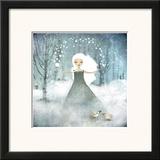 La Fille De La Neige Prints by Anne-julie Aubry