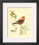 Gilded Songbird III Print by Chad Barrett