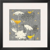 Gray Meadow Lace II Prints by Jill Meyer