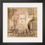 Tribute to Beethoven Posters by Marie Louise Oudkerk