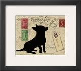 Chihuahua Silhouette Prints by Nancy Shumaker Pallan