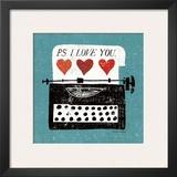 Vintage Desktop: Typewriter Posters by Michael Mullan