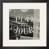 Plat du Jour Prints by Marc Olivier