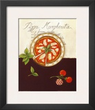 Pizza Margherita Prints by Sophie Hanin