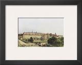 Old Castle and Bellaria in Vienna Prints by Rudolph von Alt