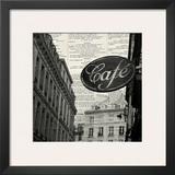 Cafe Prints by Marc Olivier