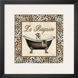 Leopard Bathtub Prints by Todd Williams