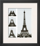 Construction of the Eiffel Tower Art by Boyer Viollet